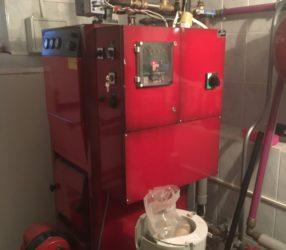 Обслуживание электрокотла Jaspi ECO-40-S 40 кВт с дизельной горелкой Oilon Junior Pro