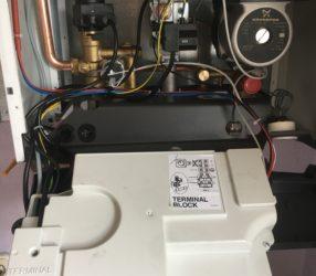Установка и пусконаладка котла Baxi Luna-3  31 кВт