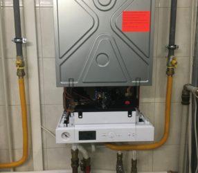 Выявление и устранение причин падения давления в системе отопления, котёл Viessmann Vitopend 100-W